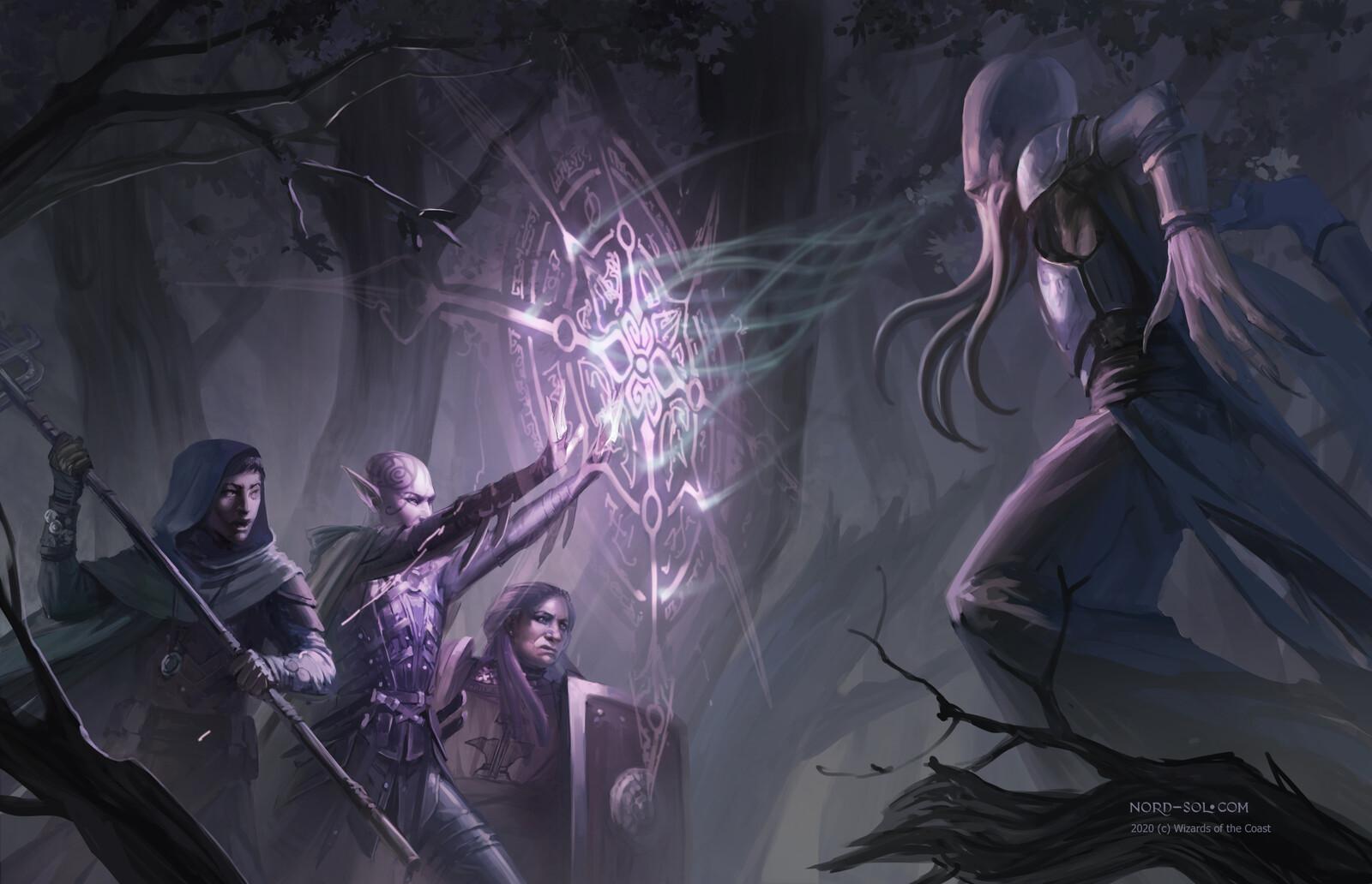 Artworks for D&D Tasha's Cauldron of Everything