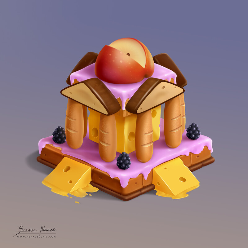 Jelly bank - game Assets