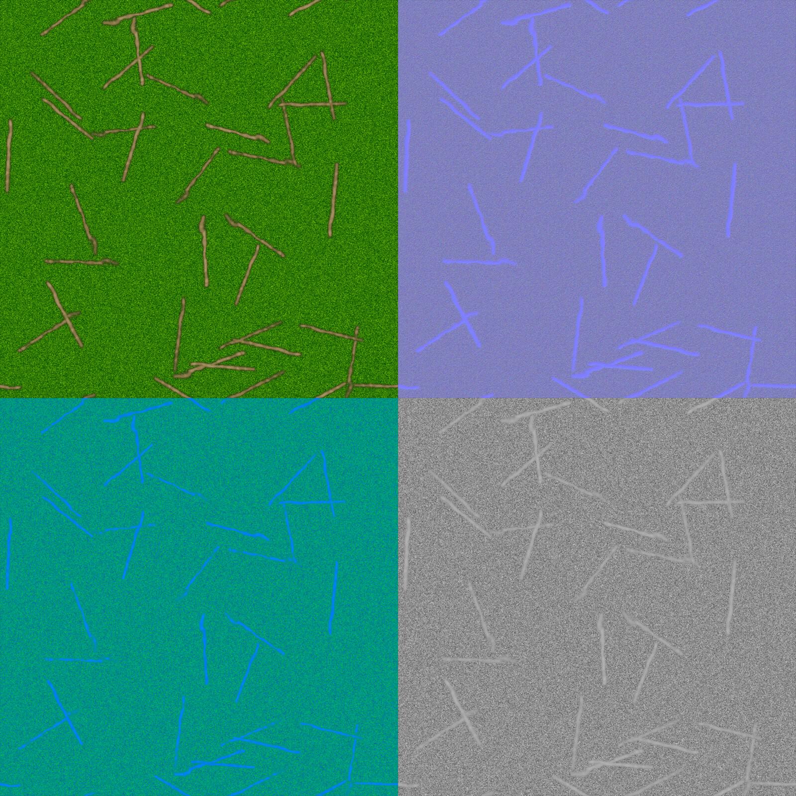 Grass Texture Flats