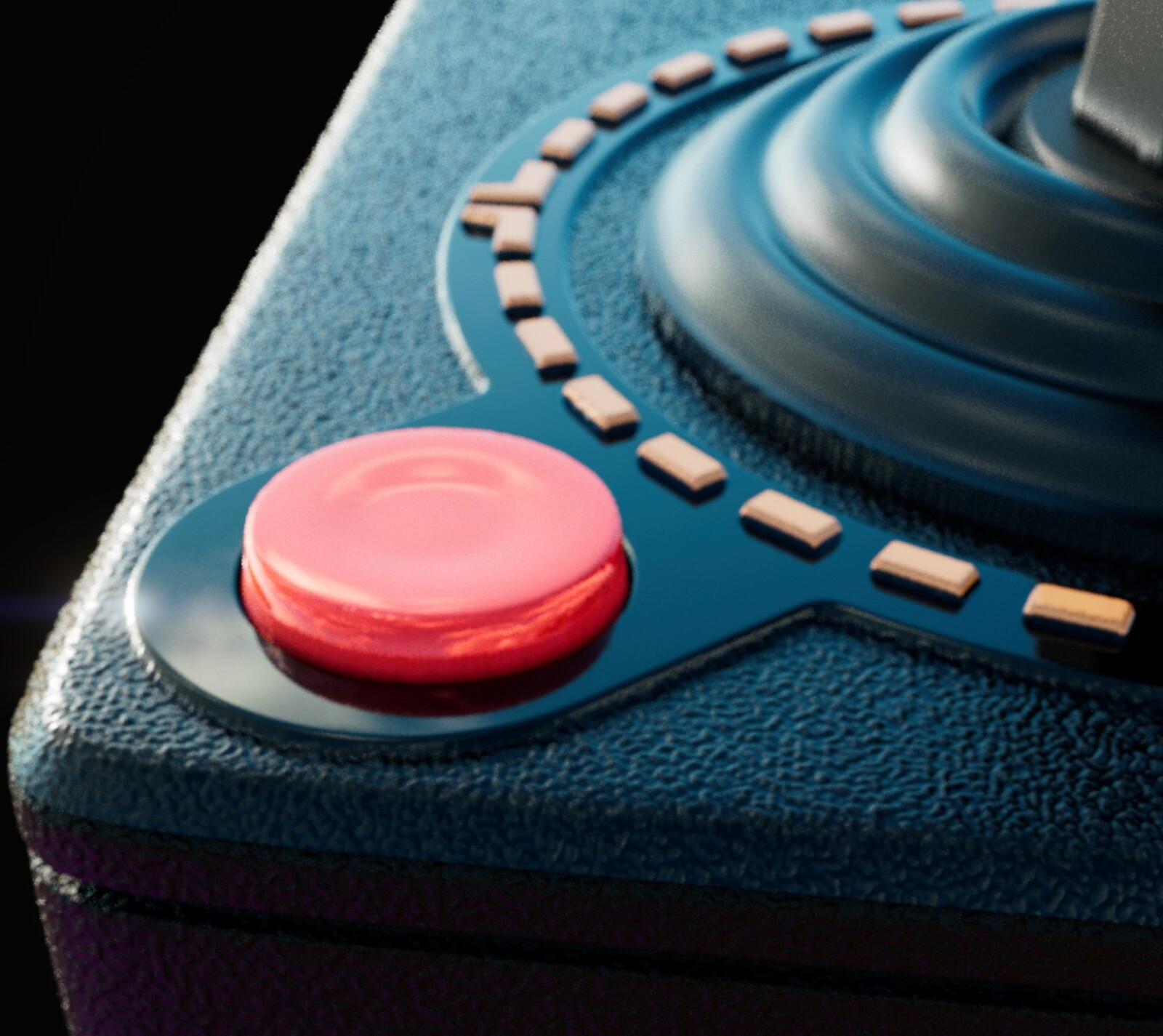 Rendered in Substance Designer. CloseUp