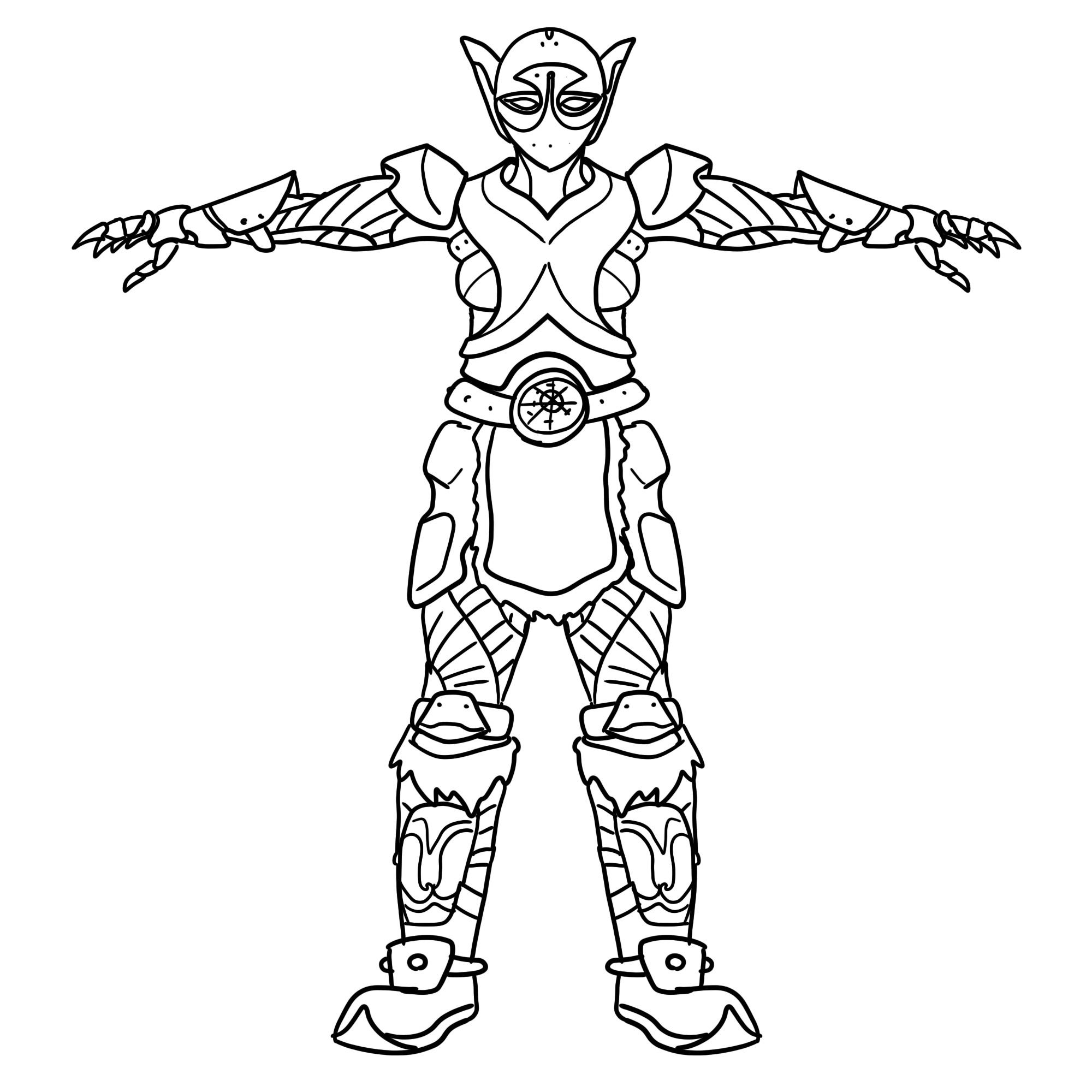 Ylva - Sketch 2