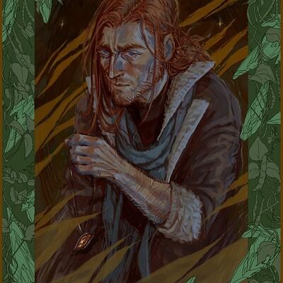 Anna dousova green glass green vines caleb final smile v