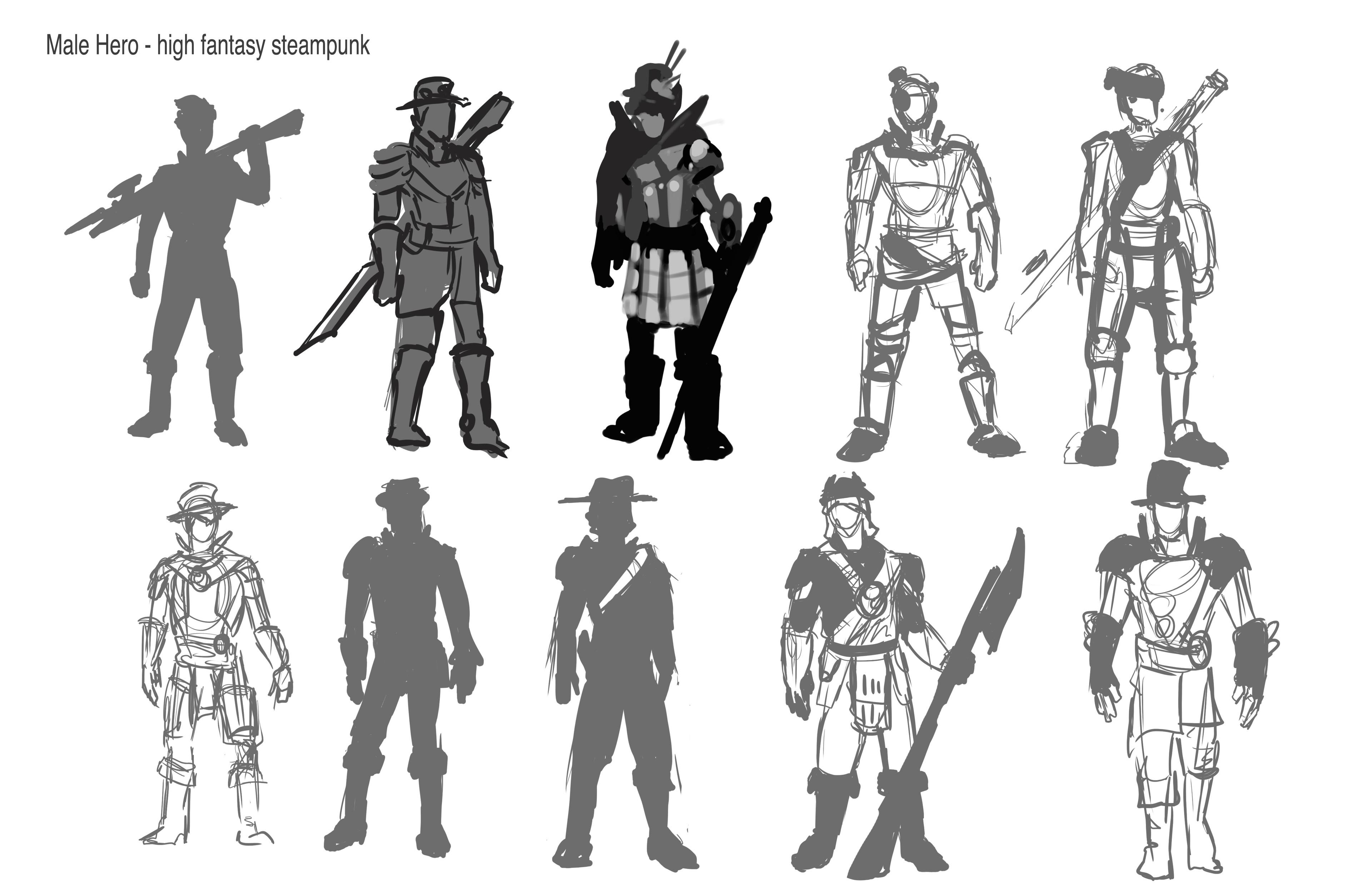hero concepts