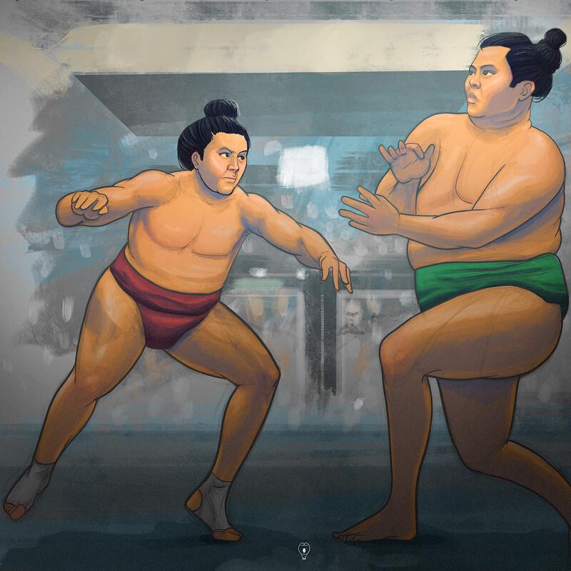 Enho Akira vs Chiyomaru Kazuki