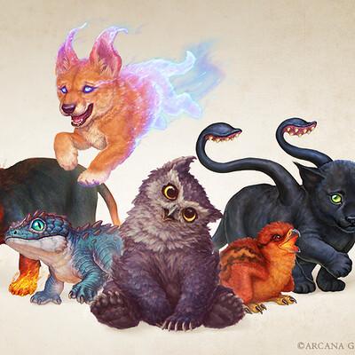 Xabi gazte familiars bonded monsters xabi gazte