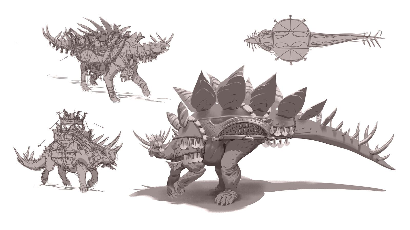 Lizardmen Concepts - Steg