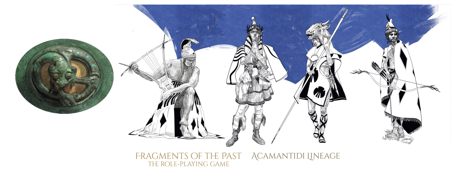 The Acamantidi Lineage - Characters for the 'Fragments of the Past - RPG Quickstart'