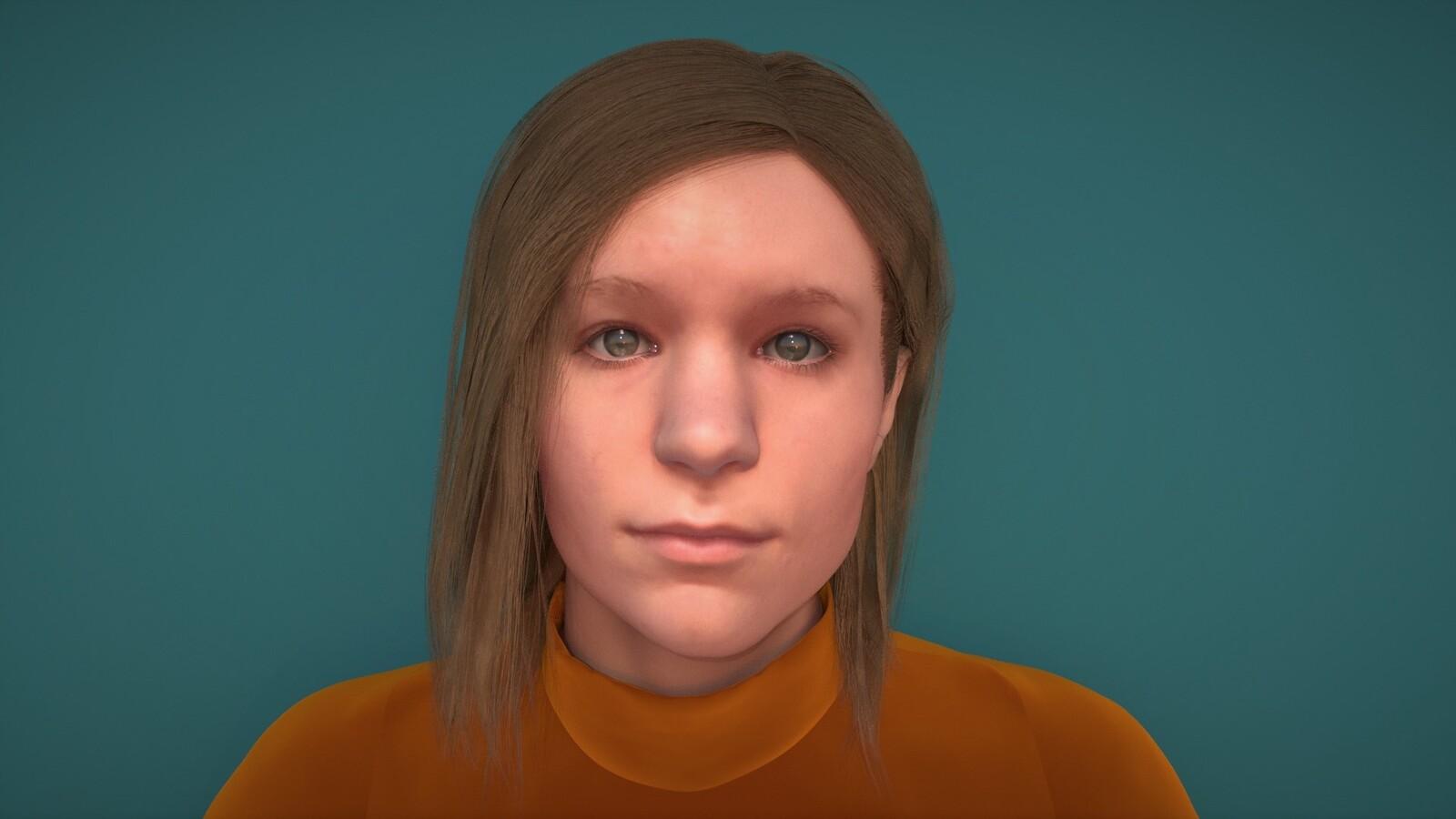 Self Portrait WIP