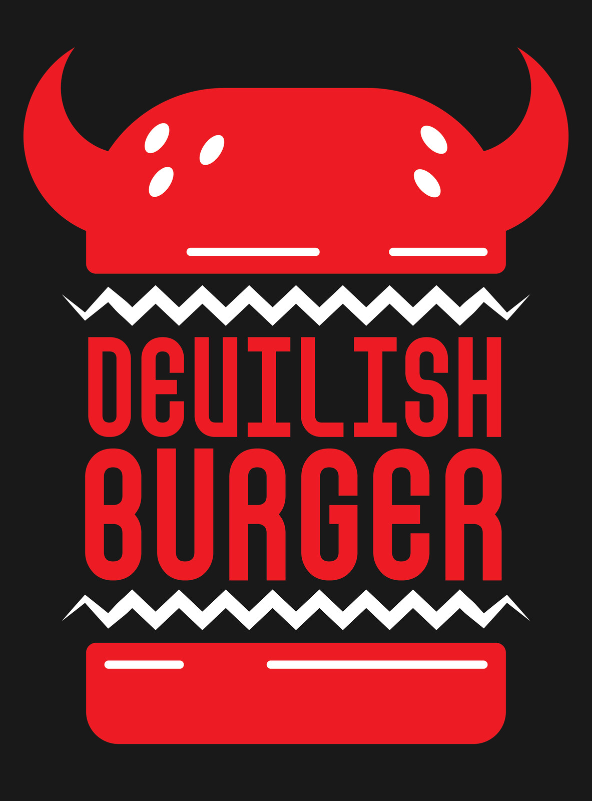 Devilish Burger Logo