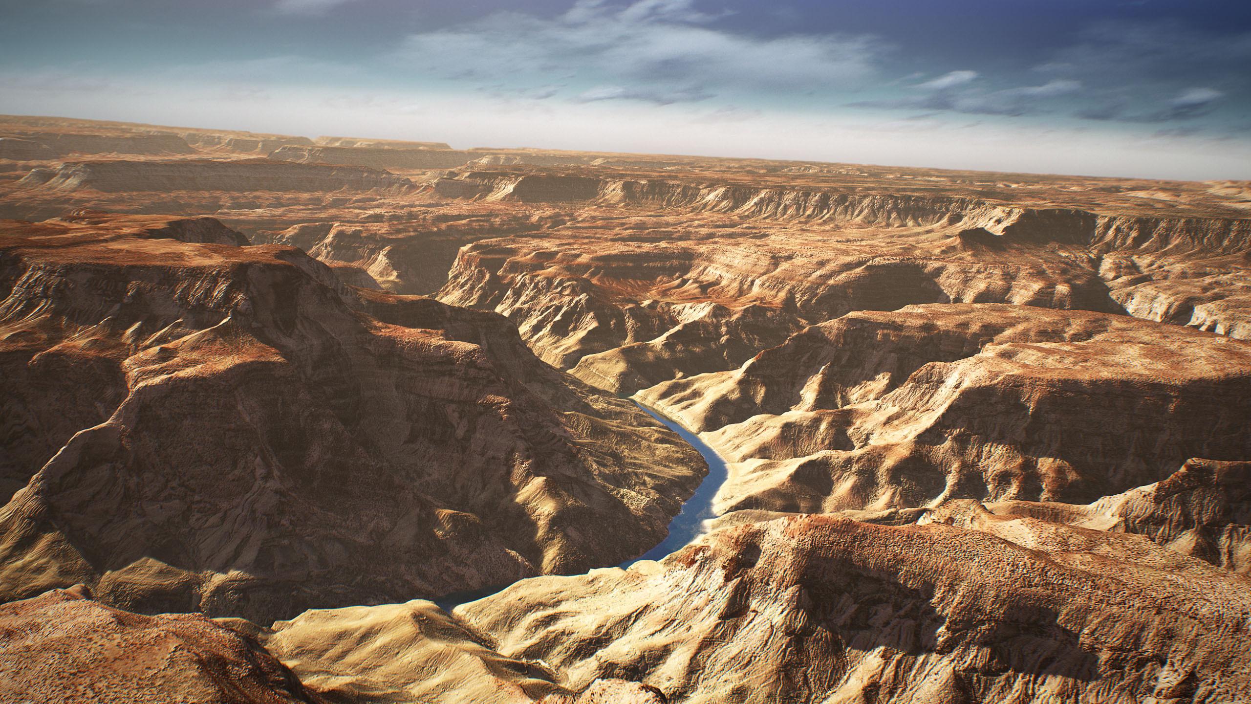 Grand Canyon 3D Environment