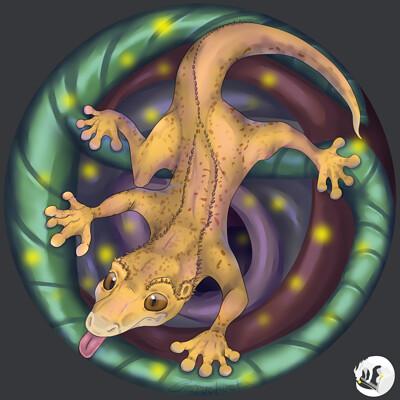 Emilia mendez casariego gecko crestado con logo fondo 07 01 2020