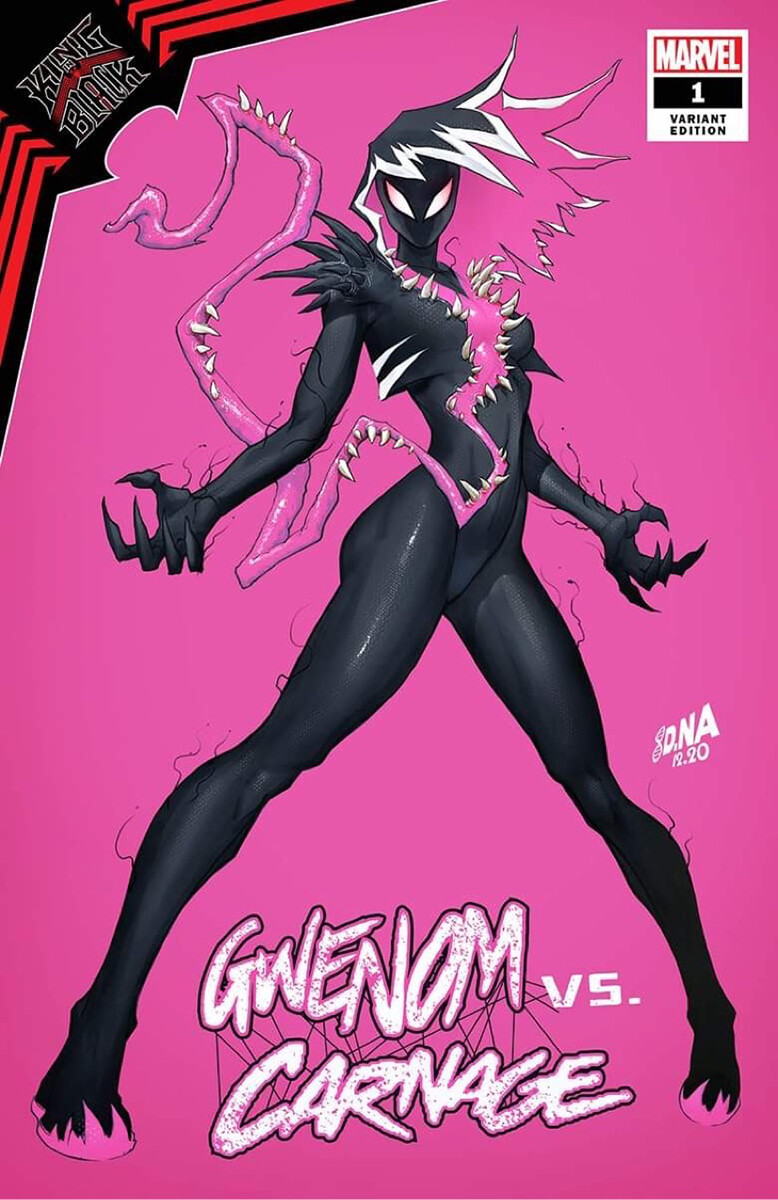 Gwenom Alternate Cover