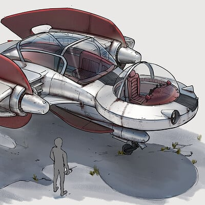 Fallout Fast Travel Air Taxi