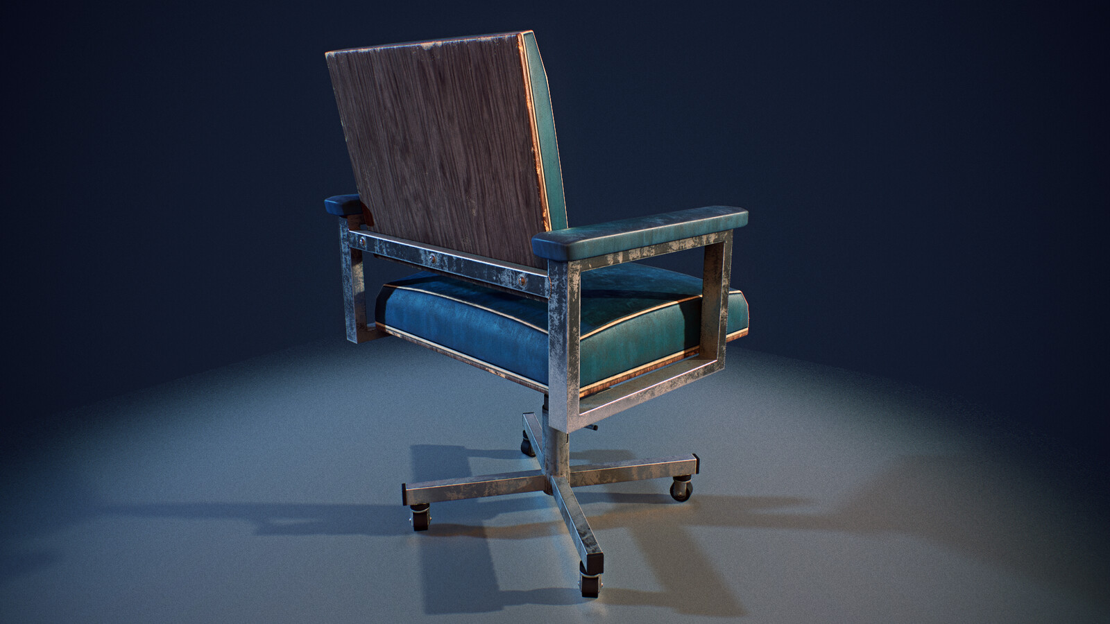 Chair detail - real time