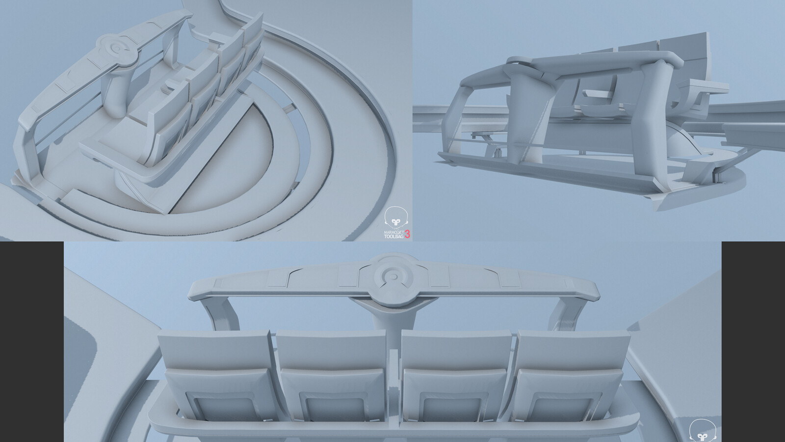 more seat and set design prototyping