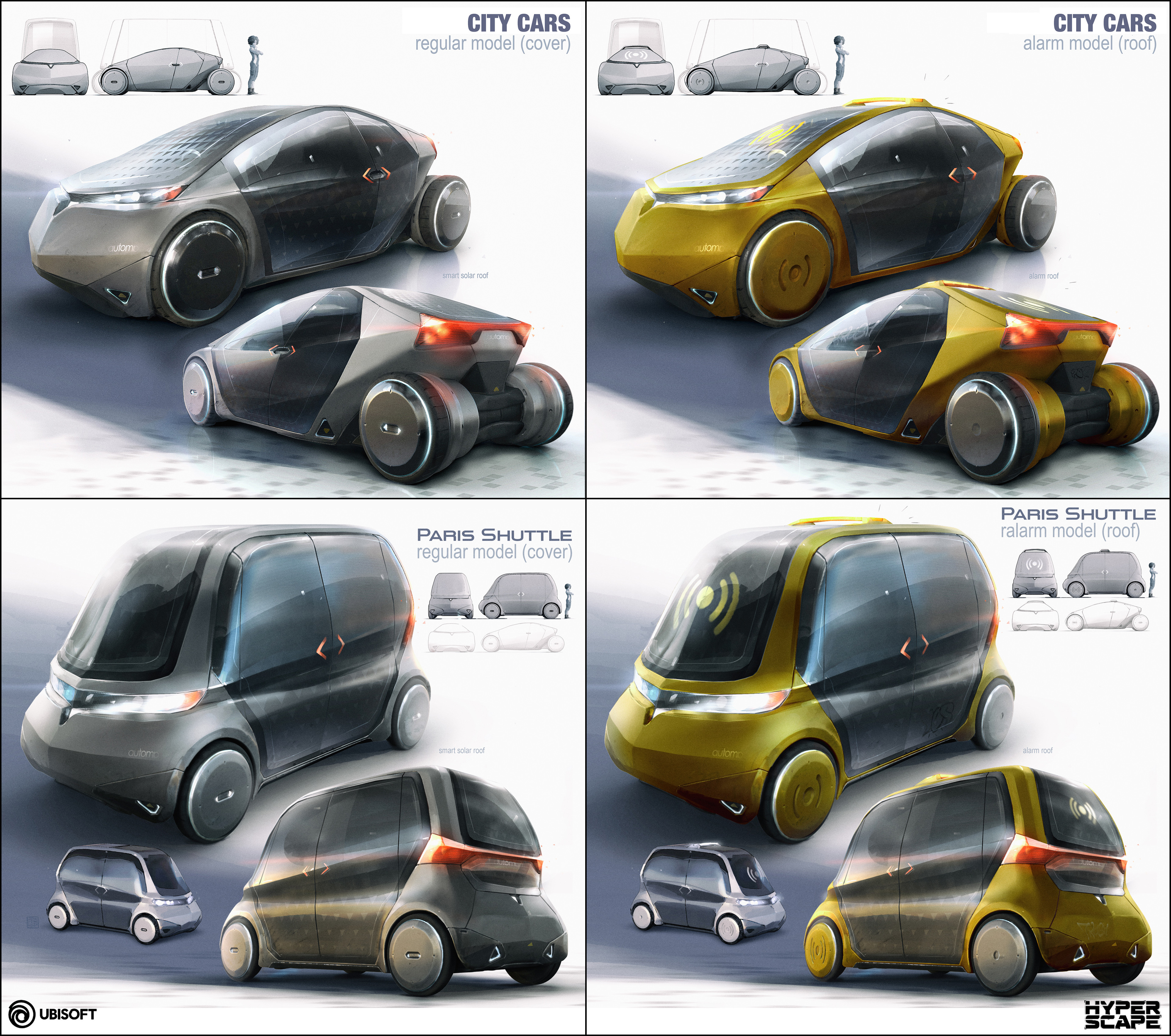 Self-driving, personal transports...