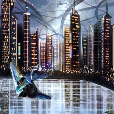 K romanova cyberpunk city wm