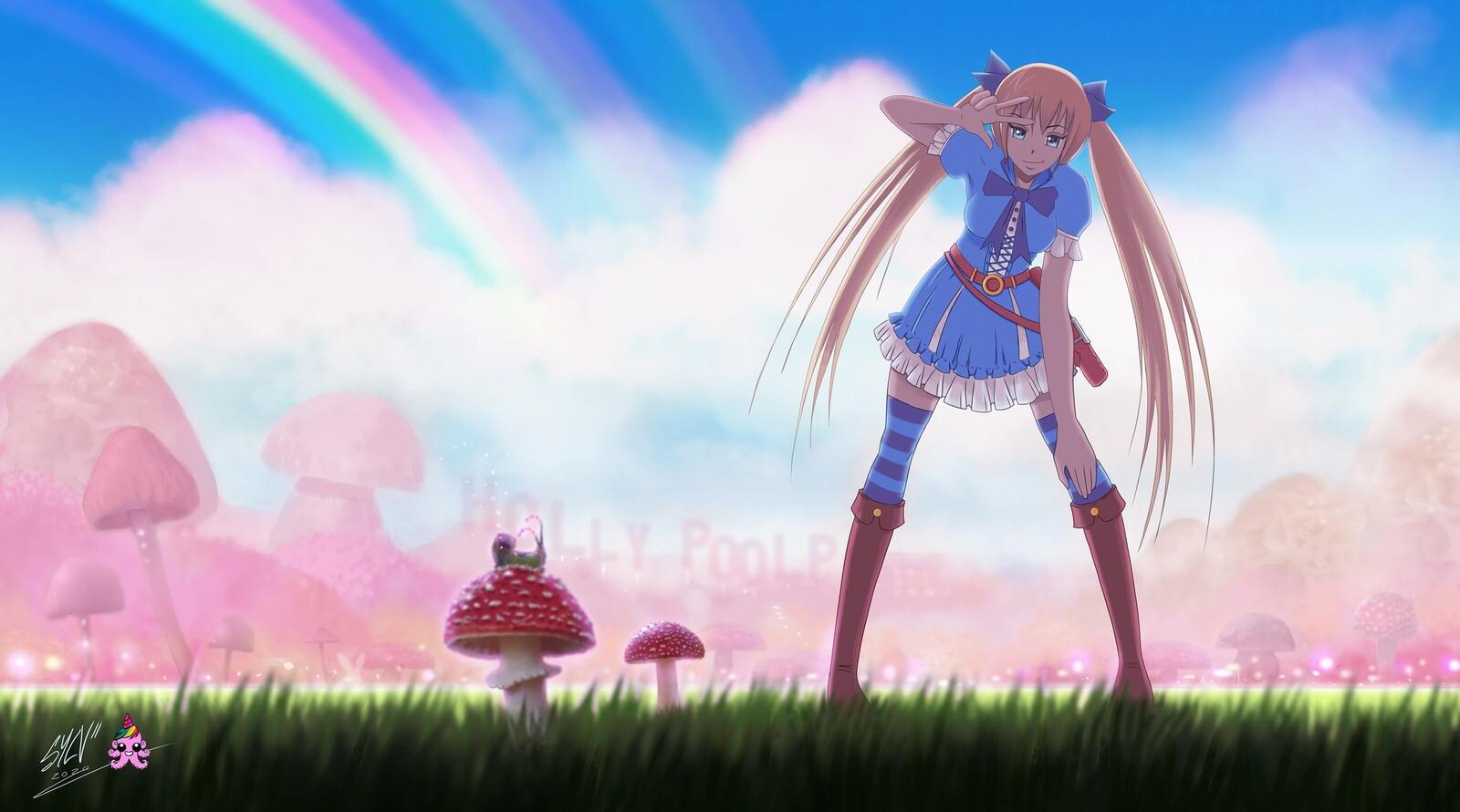 Manga-Alice in trippy land