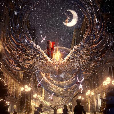 Santa's New Ride: A Phoenix Hope