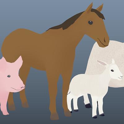 XR App Animal Models