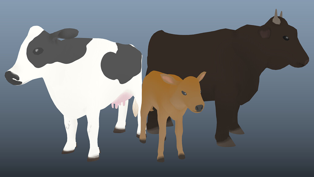 Cow family models