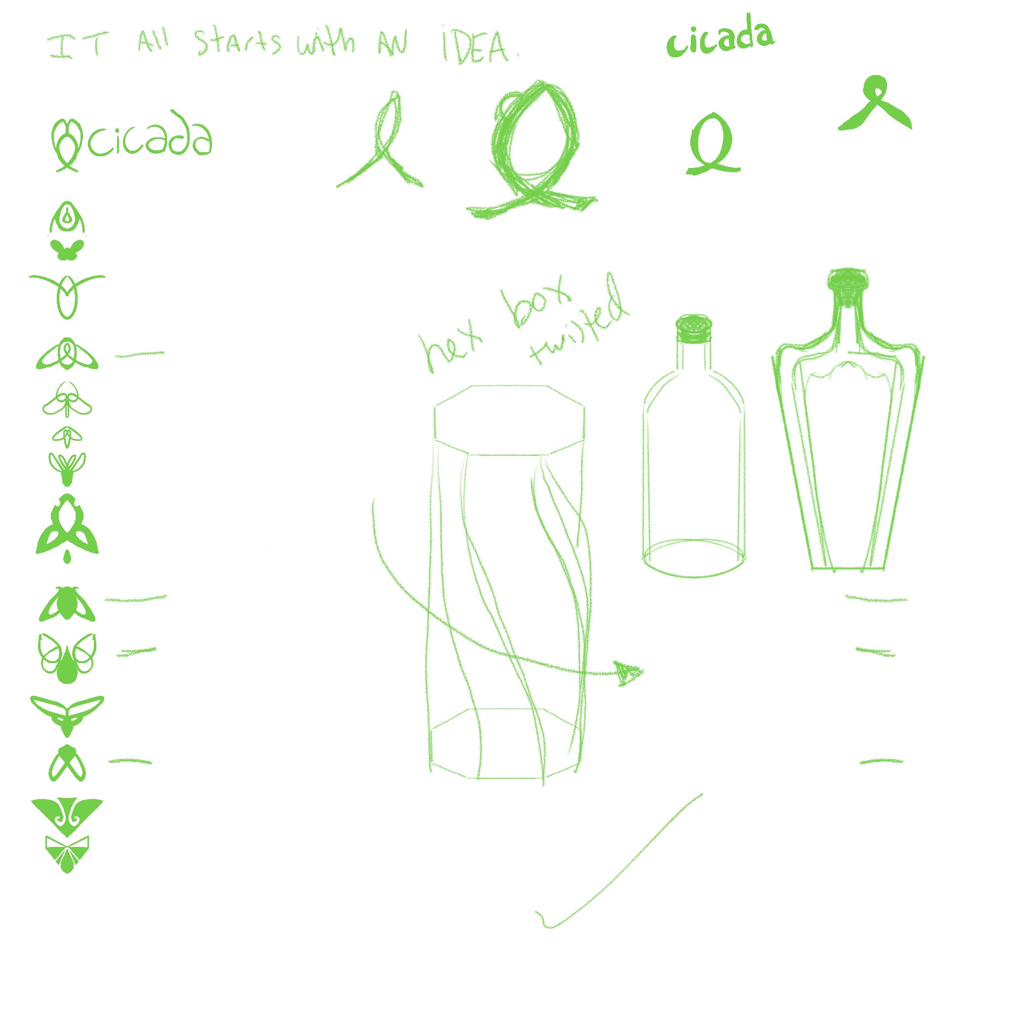 Initial project ideas/sketches