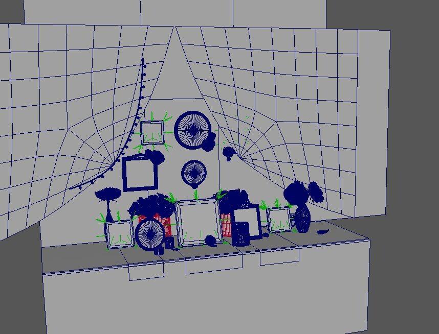 3D view (Maya)