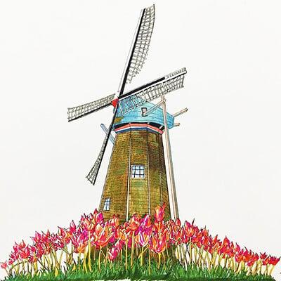 Hongjun wu windmill