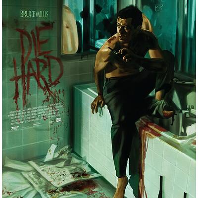 Paul butcher a3 die hard etsy