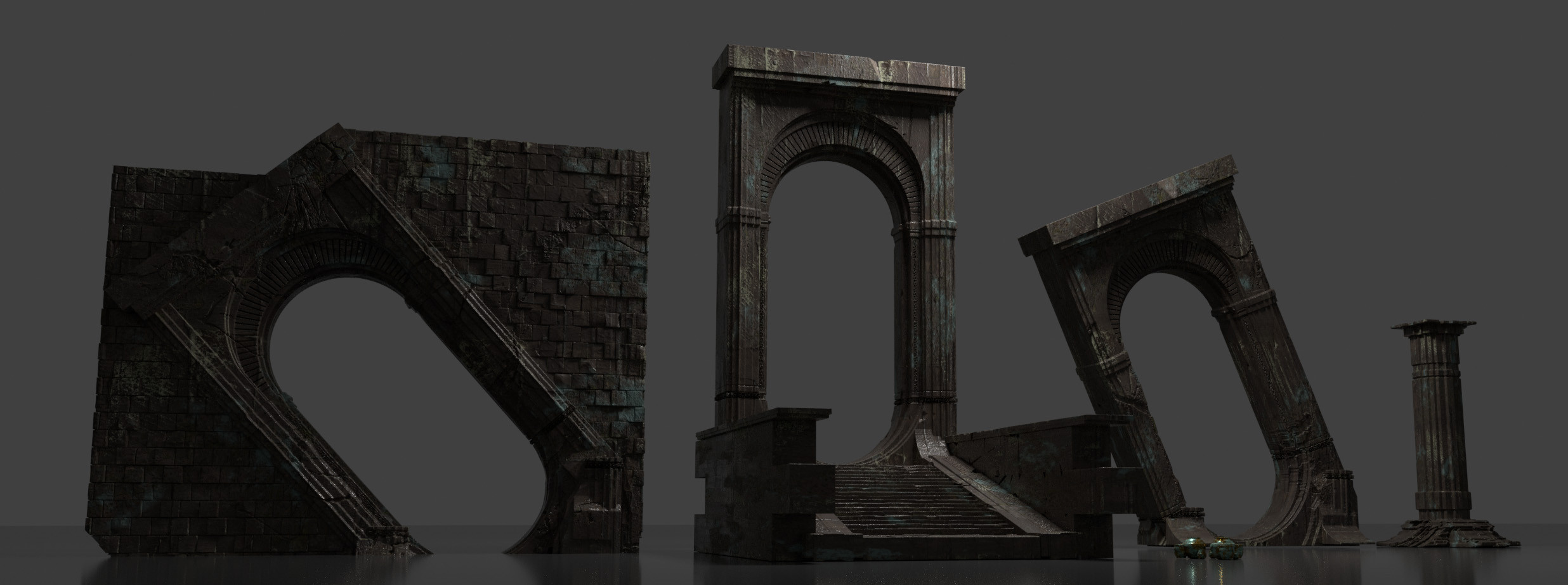 Assets created in 3dCoat