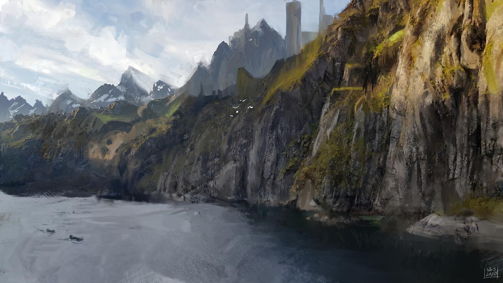 Journey to The Argonath