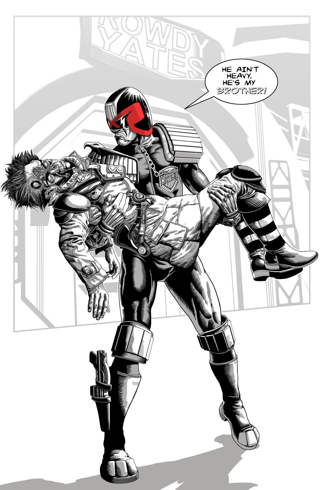 Judge Dredd and Rico