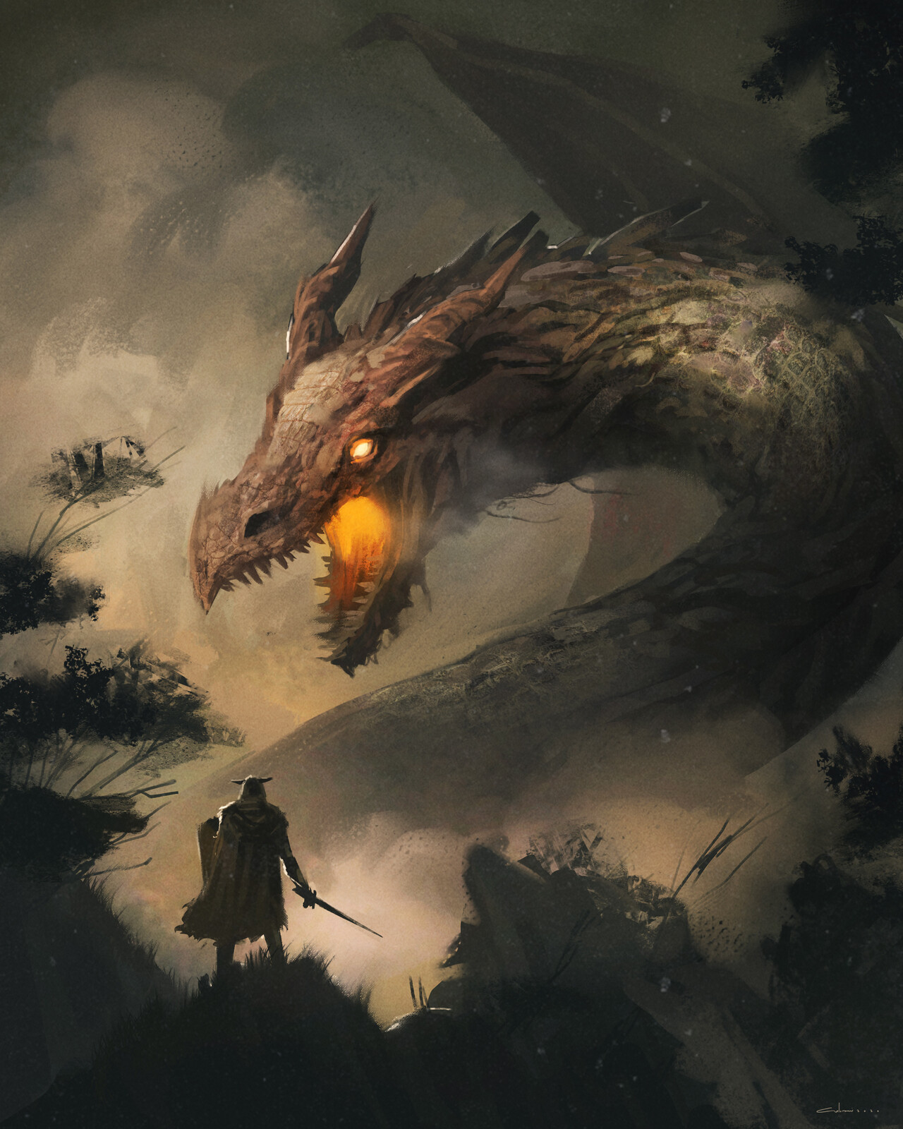 Beowulf - Slaying the Dragon
