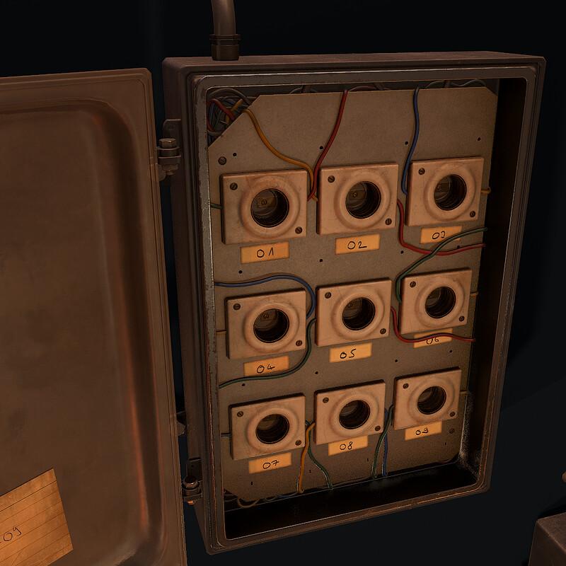 Fuse Box - (Horror Corridor)