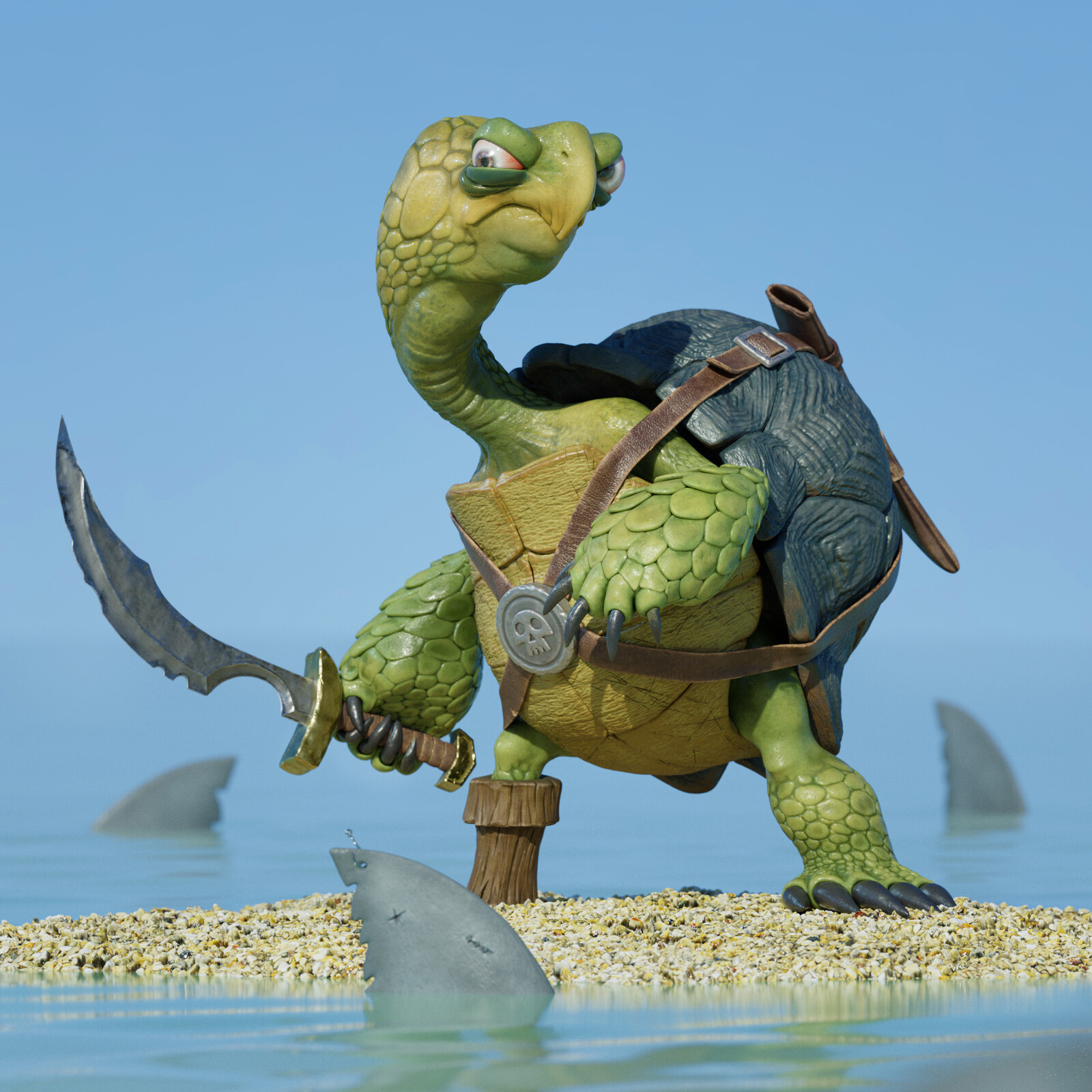 Pirate Turtle