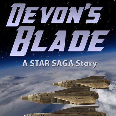 Ken mcconnell devons blade cover star saga