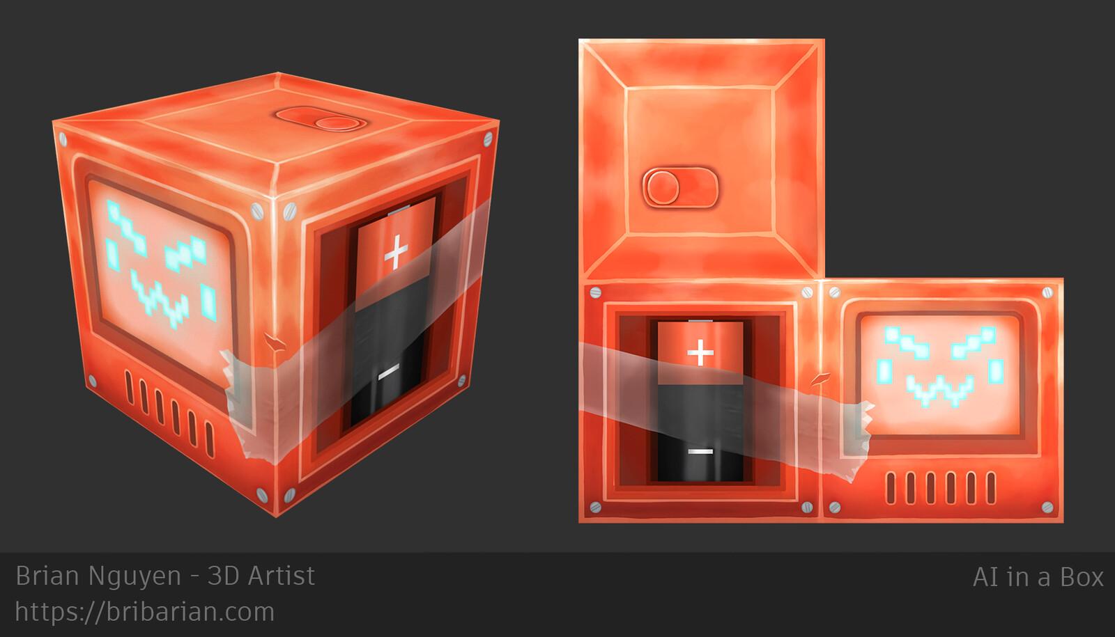 AI in a Box + Texture