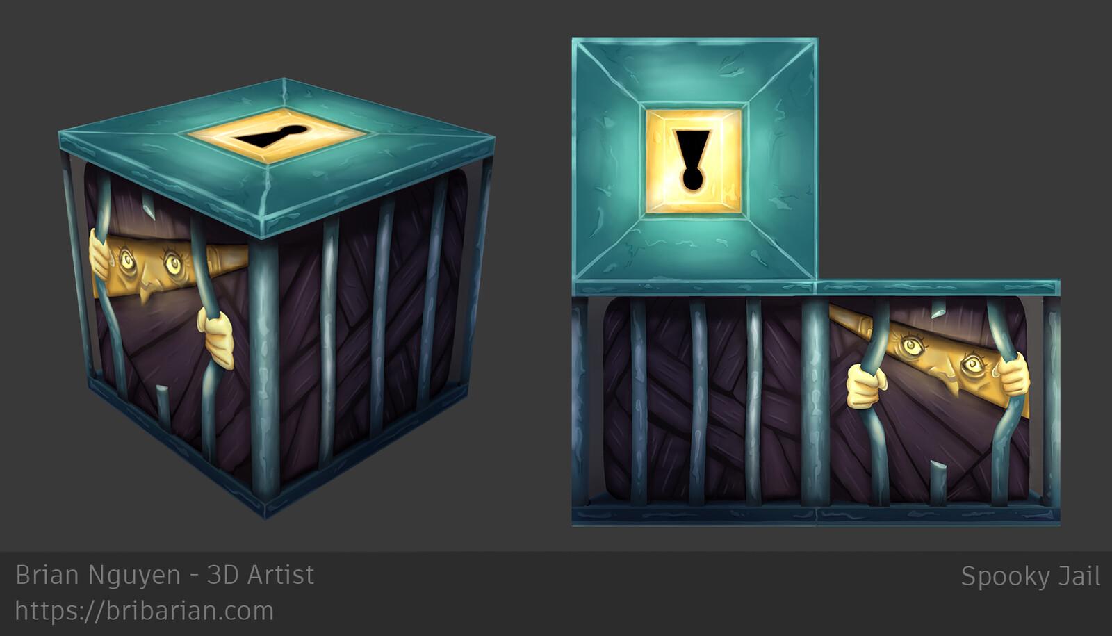 Spooky Jail + Texture