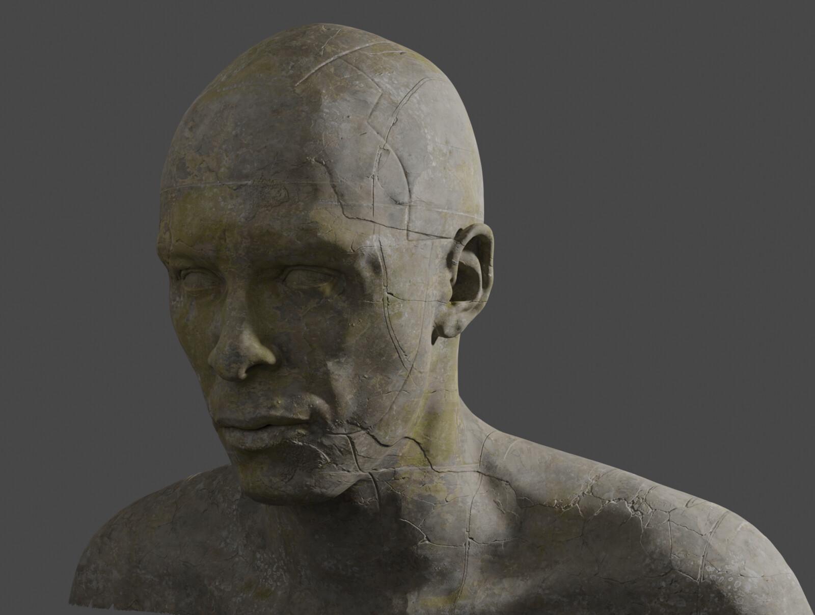 Quick renders of the final look