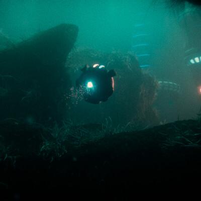 Izaki berdea underwater 02