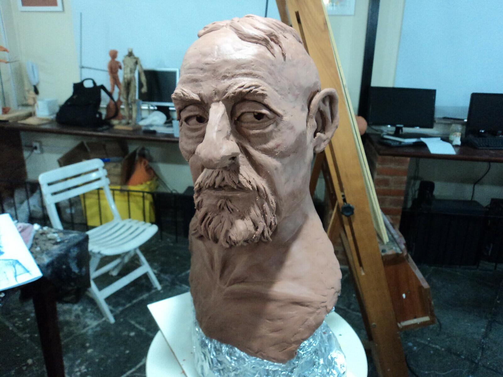 Pirate Bust Sculpt