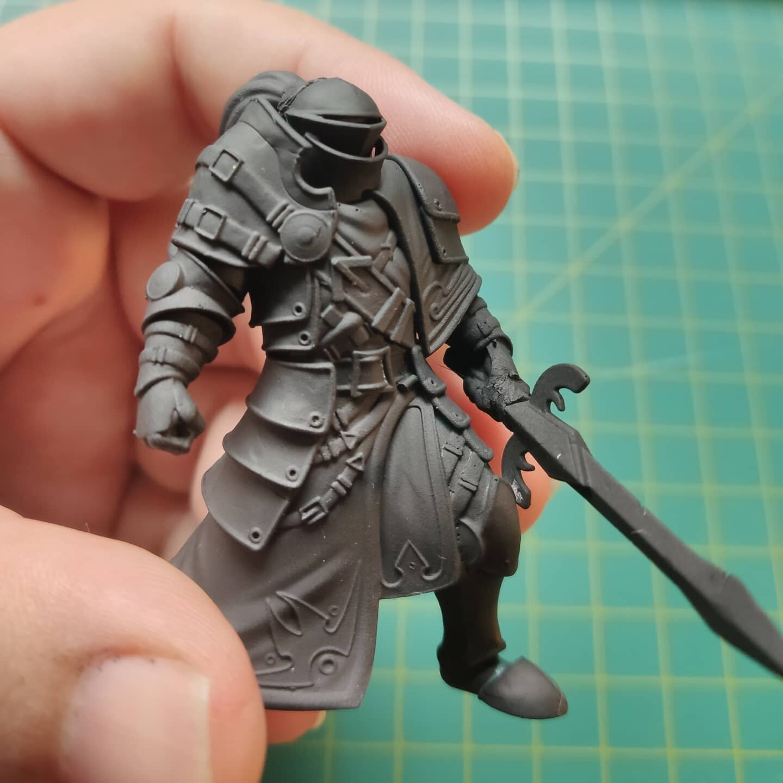Paladin Miniature