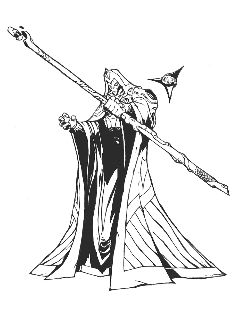Codename: Empyre - XKult Sorcerer