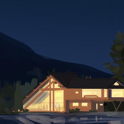 Shoji ushiyama house sketch 3