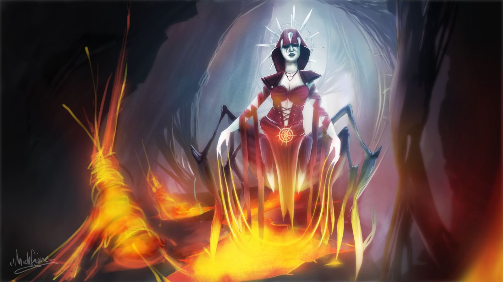 Minerva Illustration