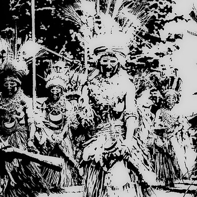 Ps tavishi 9209 hagen show papua new guinea circa august 2015 native women in beautiful costumes and colours on face