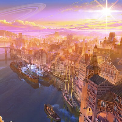 Arseniy chebynkin port sunse up1