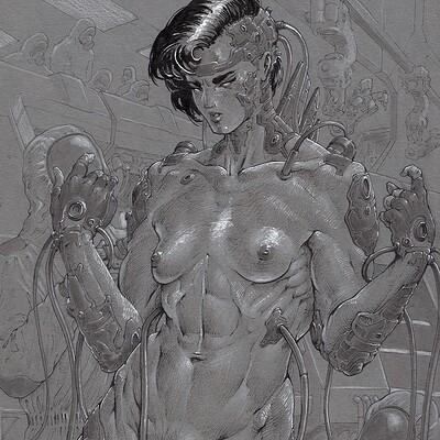 Atom cyber combat body