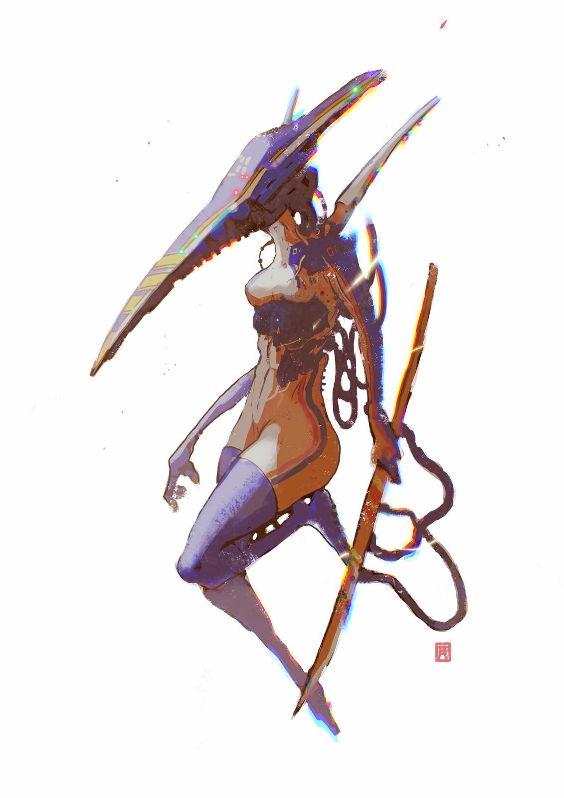 Cyberpunk Sketches Batch//02