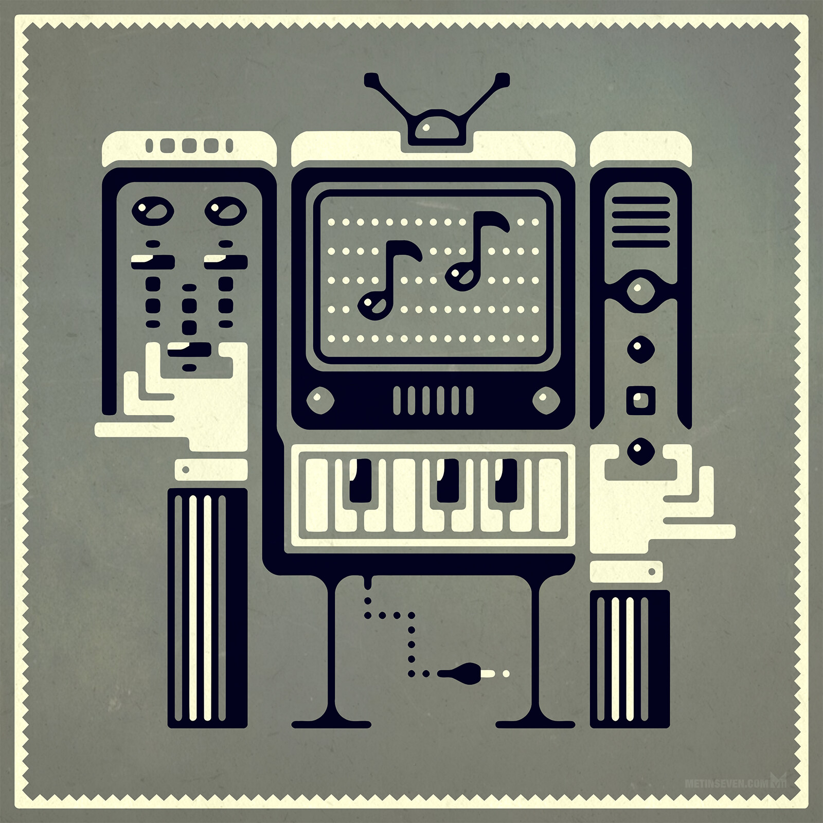 Retro-electronic music